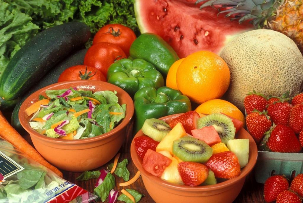 Day Three - Fruits and Vegetables